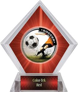 Awards P.R. Male Soccer Red Diamond Ice Trophy
