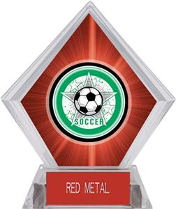 Awards All-Star Soccer Red Diamond Ice Trophy