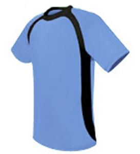 Pre-#ed APOLLO Soccer Jerseys LT BLUE w/ BLACK #'s