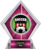 Awards Patriot Soccer Pink Diamond Ice Trophy