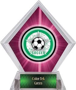Awards All-Star Soccer Pink Diamond Ice Trophy