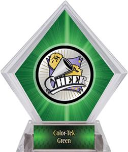 Hasty Awards Xtreme Cheer Green Diamond Ice Trophy