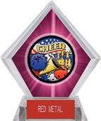 Awards Americana Cheer Pink Diamond Ice Trophy