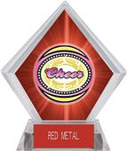 Awards Classic Cheer Red Diamond Ice Trophy