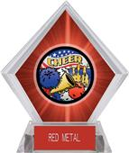 Awards Americana Cheer Red Diamond Ice Trophy