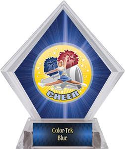 Hasty Awards HD Cheer Blue Diamond Ice Trophy