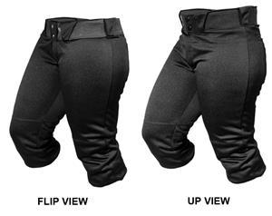 ALL-STAR Women's Medium Weight Roll Top Pants