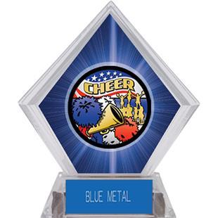 Awards Americana Cheer Blue Diamond Ice Trophy