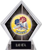 Hasty Awards HD Cheer Black Diamond Ice Trophy