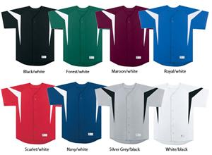 High 5 Reflex Full-Button Baseball Jersey Closeout