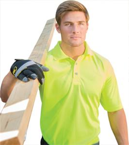Game Sportswear The Hi-Vis Polo Shirts