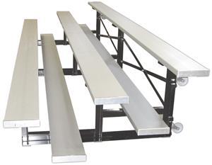 FanStand Tip N Roll Bleachers Single/Double Plank