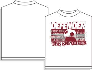 Utopia Soccer Enforcer Defender T-shirt