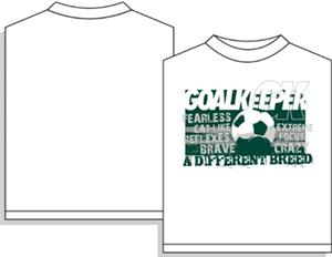 Utopia Soccer Different Breed Goalkeeper T-shirt