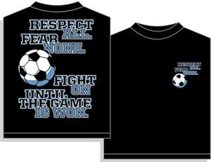 Utopia Soccer Fear None T-shirt