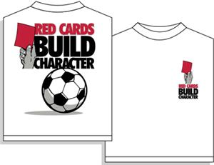 Utopia Soccer Red Cards T-shirt