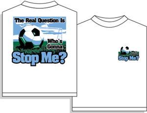 Utopia Soccer Stop Me T-shirt