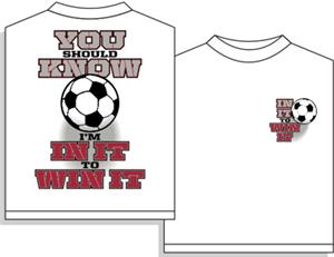 Utopia Soccer In It To Win It T-shirt