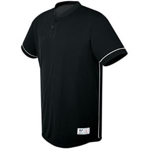 High Five Rush Two-Button Baseball Jersey-Closeout