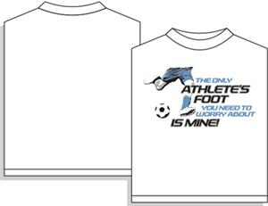 Utopia Soccer Athlete's Foot Short Sleeve T-shirt
