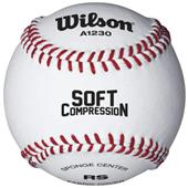 Wilson Soft Compression Cloth Baseballs Level 1