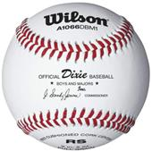 Wilson Dixie Boys Regual Season Play Baseballs 1DZ