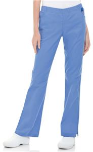 Landau Modern Missy Full Elastic Scrub Pants