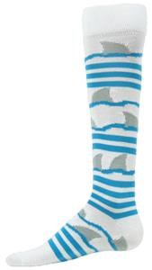 Red Lion Shark Striped Athletic Socks