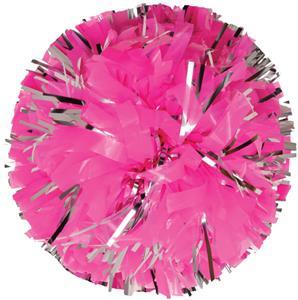 Getz Adult Cheerleaders Plastic w/Glitter Poms
