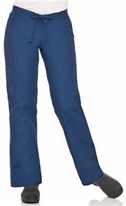 Landau Womens Modern Dual-Pocket Cargo Scrub Pants