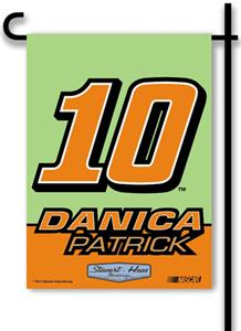 "Danica Patrick #10 2-Sided 13"" x 18"" Garden Flag"
