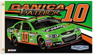 NASCAR Danica Patrick #10 2-Sided 3' x 5' Flag