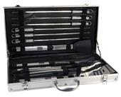 Picnic Time Mirage Pro 11-Piece BBQ Set w/ Case
