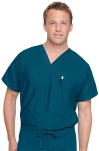Landau Unisex Reversible V-Neck Scrub Top