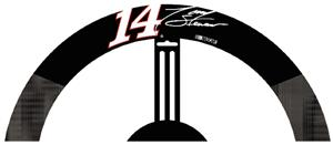 Tony Stewart #14 Poly-Suede Steering Wheel Cover