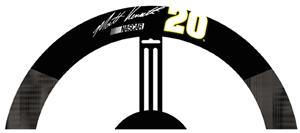 Matt Kenseth #20 Poly-Suede Steering Wheel Cover