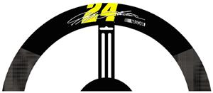 Jeff Gordon #24 Poly-Suede Steering Wheel Cover