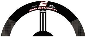 Brad Keslowski #2 Poly-Suede Steering Wheel Cover
