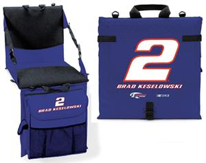 Brad Keslowski #2 Cooler Cushion with Seat back