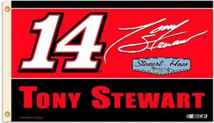 Tony Stewart #14 NASCAR 3' x 5' Flag