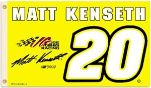 Matt Kenseth #20 NASCAR 3' x 5' Flag
