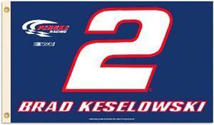 Brad Keslowski #2 NASCAR 3' x 5' Flag