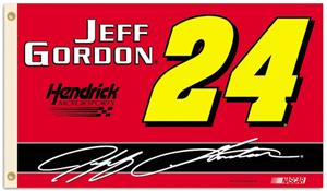 Jeff Gordon #24 NASCAR 3' x 5' Flag