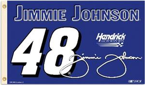 Jimmie Johnson #48 NASCAR 3' x 5' Flag