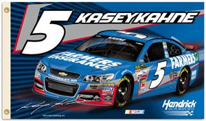 NASCAR Kasey Kahne #5 2-Sided 3' x 5' Flag