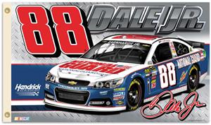 NASCAR Dale Earnhardt Jr. #88 2-Sided 3' x 5' Flag