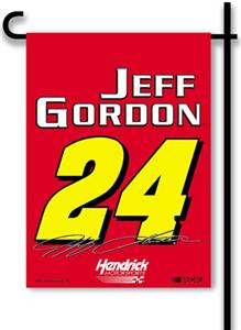 "Jeff Gordon #24 2-Sided 13"" x 18"" Garden Flag"