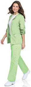 Landau Misses & Women's Warm-Up Jacket Lab Coat