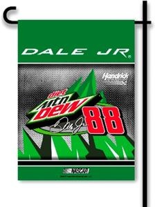 "Dale Jr. #88 MTN. DEW 2-Side 13"" x 18"" Garden Flag"