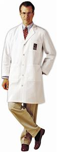 Landau Men's Knee Length Lab Coat